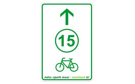 [Translate to Niederländisch:] Radwegweiser Knotenpunktsystem